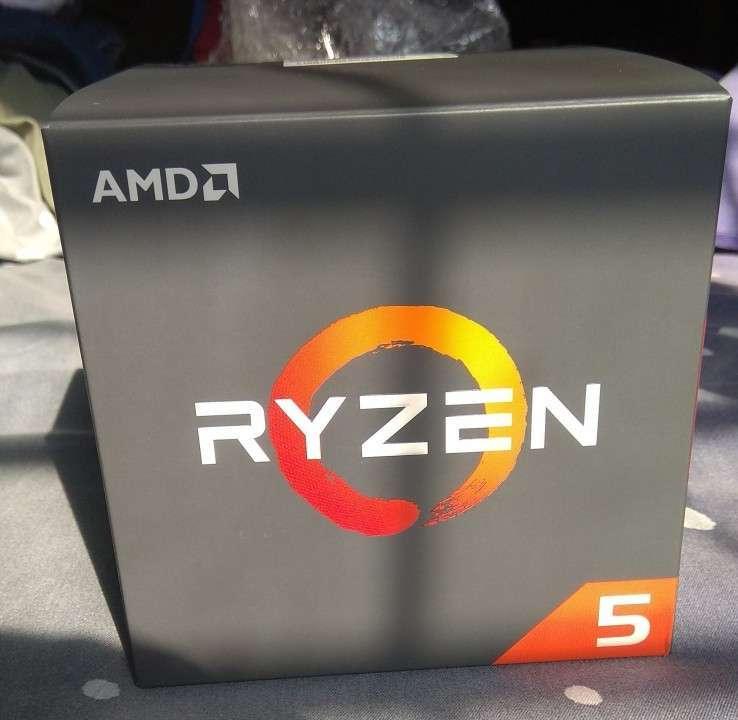 Procesador AMD Ryzen 5 1600 con cooler - 0