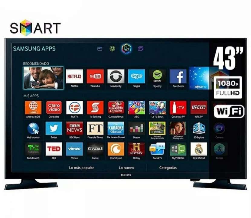 TV LED Samsung 43 pulgadas smart wifi - 0