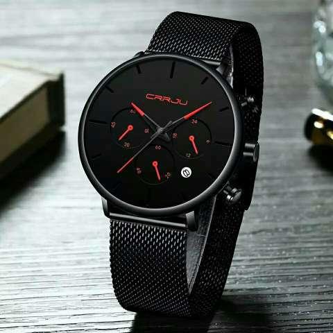 Reloj para hombre Marca CRRJU - 0