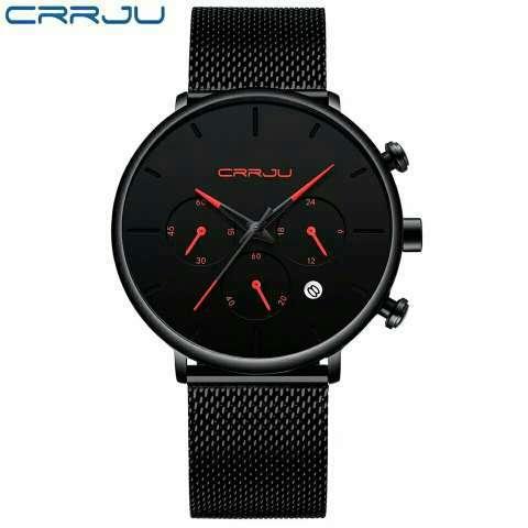 Reloj para hombre Marca CRRJU - 1