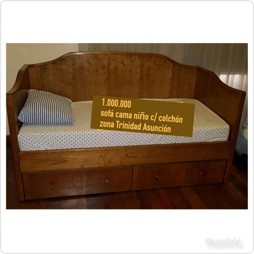 Sofá cama para niño - 0