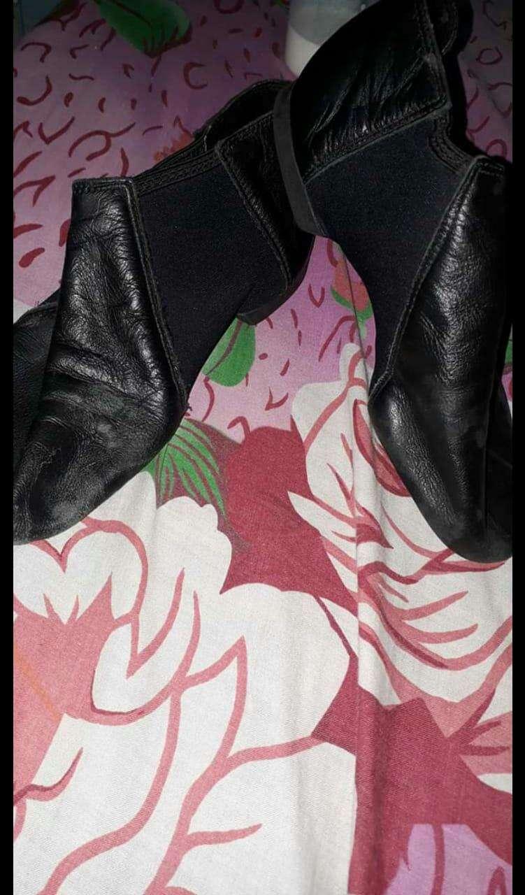 Zapatillas de jazz color negro - 0