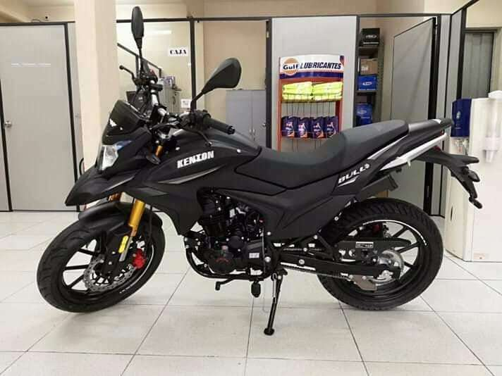 Moto Kenton Bull 200 - 0