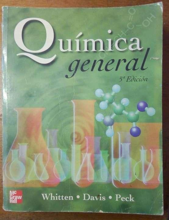 Libro química general whitten davis - 0