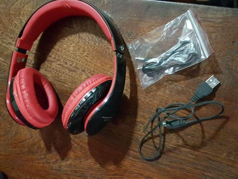 Auricular estéreo con bluetooth y mp3 - 2