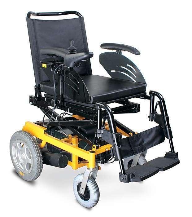 Silla de ruedas motorizada con elevación de altura - 0