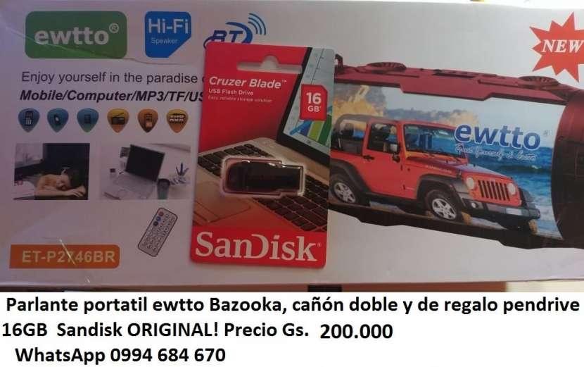 Parlante portátil bazooka - 1