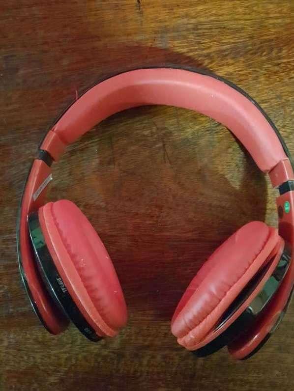 Auricular estéreo con bluetooth y mp3 - 0