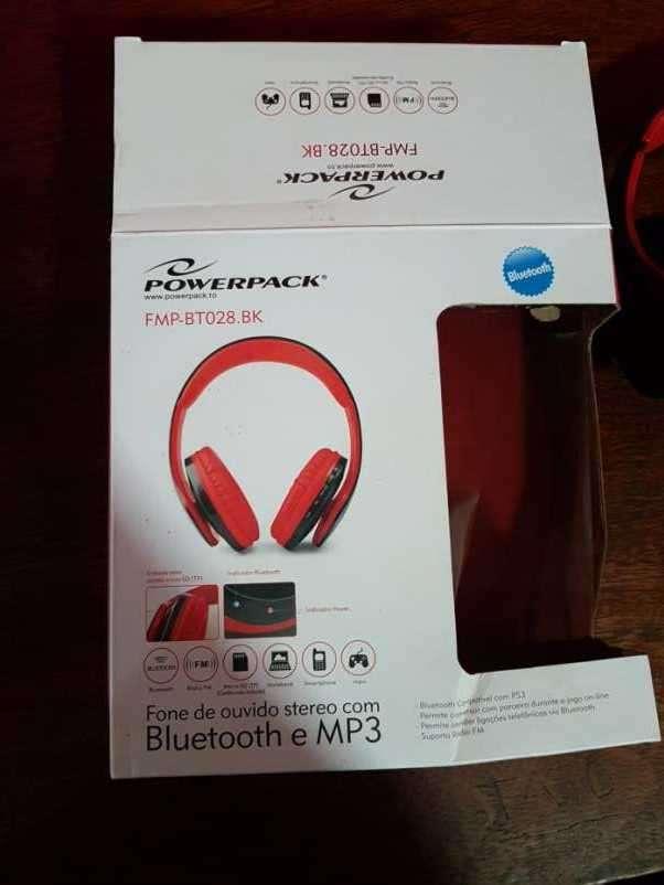 Auricular estéreo con bluetooth y mp3 - 1