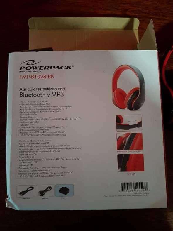 Auricular estéreo con bluetooth y mp3 - 3