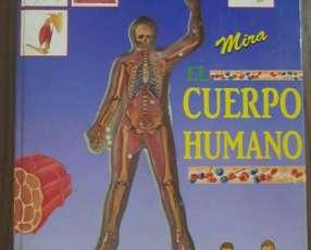 Atlas sobre cuerpo humano