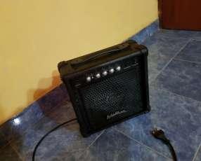Amplificador washburn de 300 watts con dos cables de 5 m