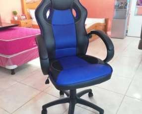 Silla Gamer Blue