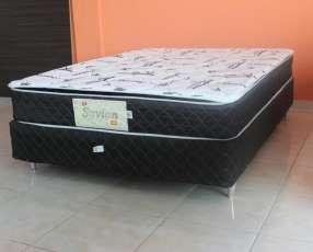 Base + colchón 160 x 2,00 savion super spuma