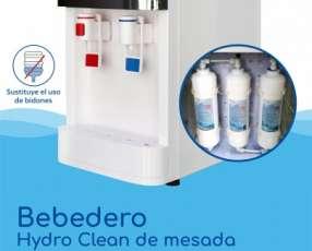 Bebedero de agua purificada