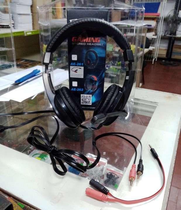 Auricular c/ mic gamer SATE AE-261 - 1