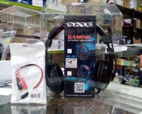 Auricular c/ mic gamer SATE AE-261