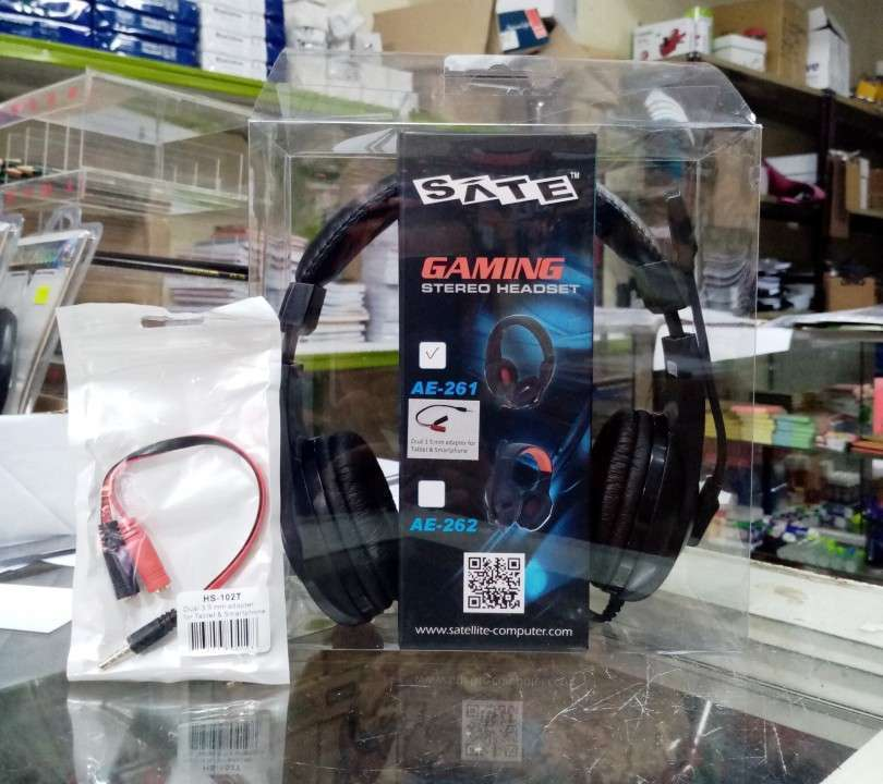 Auricular c/ mic gamer SATE AE-261 - 0