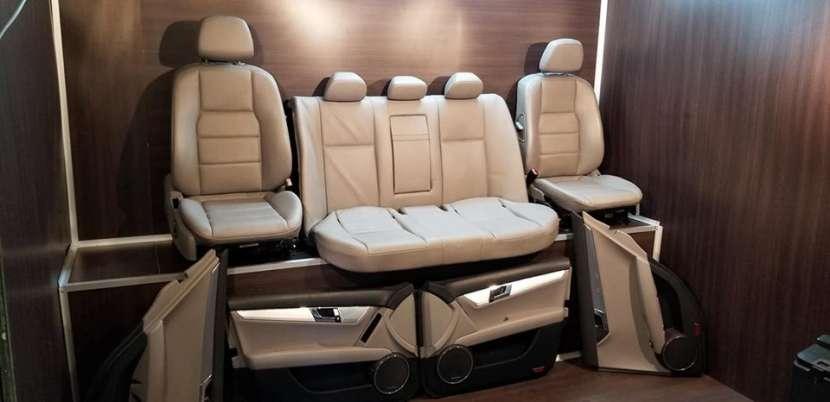 Interior para Mercedes w204 original bicolor - 1