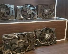 Electro ventiladores originales para Mercedes