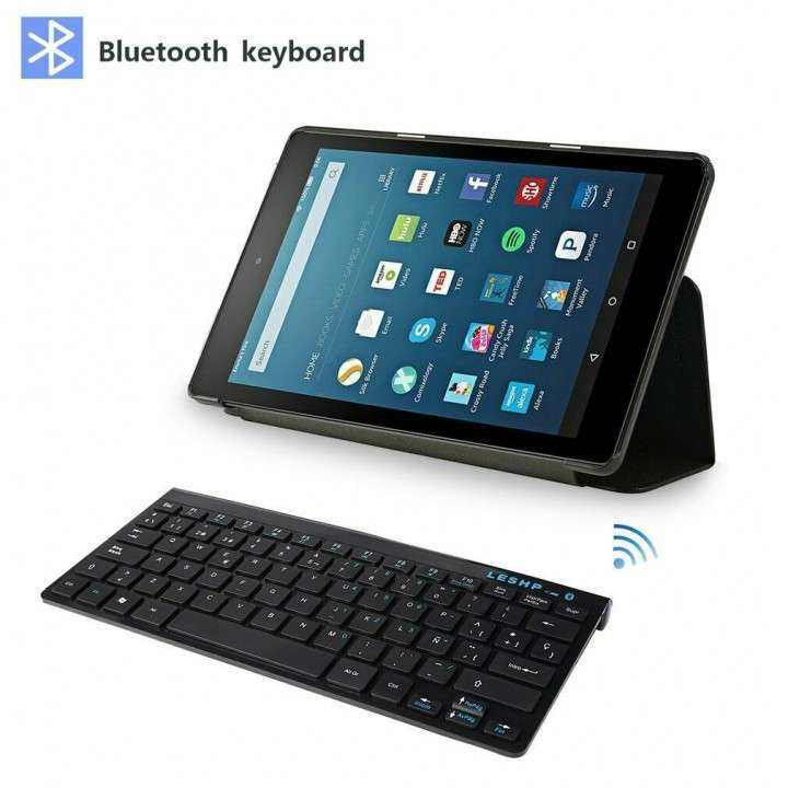 Teclado Bluetooth para Android iOs Windows Wireless - 6