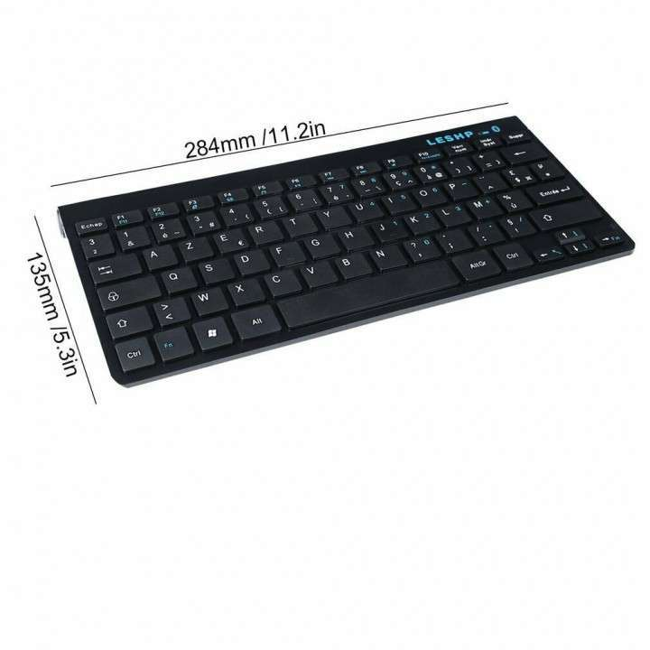 Teclado Bluetooth para Android iOs Windows Wireless - 7