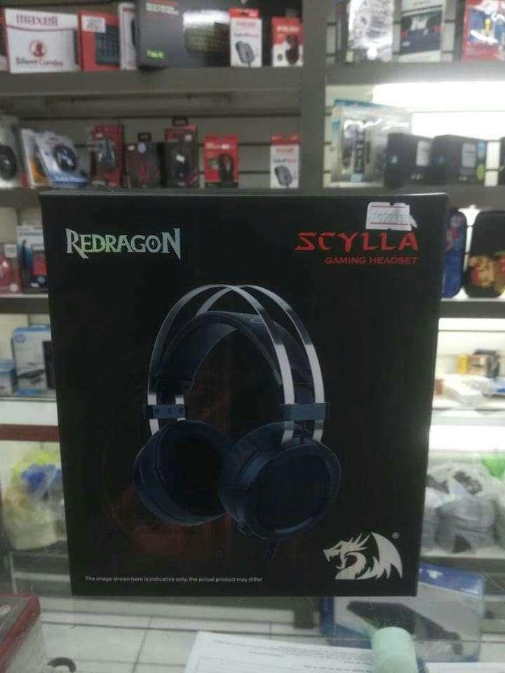 Headset gamer Redragon Scylla USB - 2