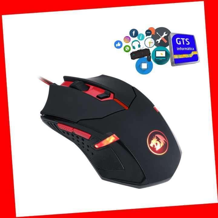 Gamer Redragon teclado Vjara+ mouse Centrop 3200dpi - 2