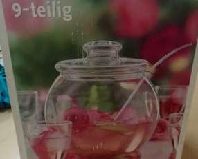 Ponchera de vidrio