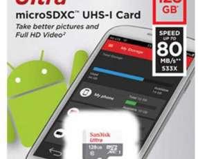 Memory SD 128 gb Sandisk Ultra