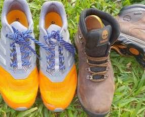 Calzados originales Timberland y Adidas