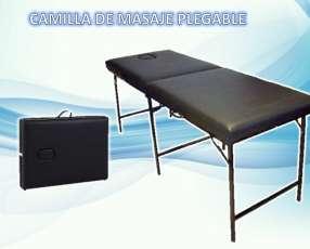 Camilla de masaje plegable