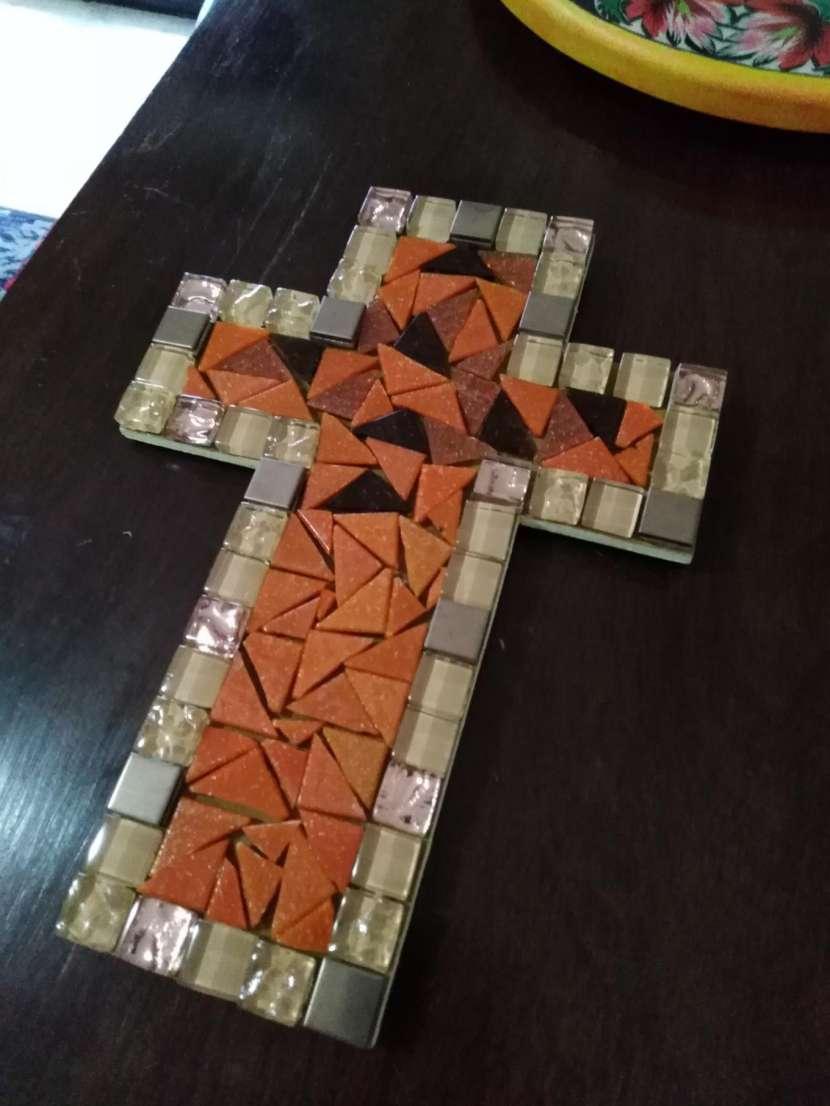 Cruz en mosaico - 0