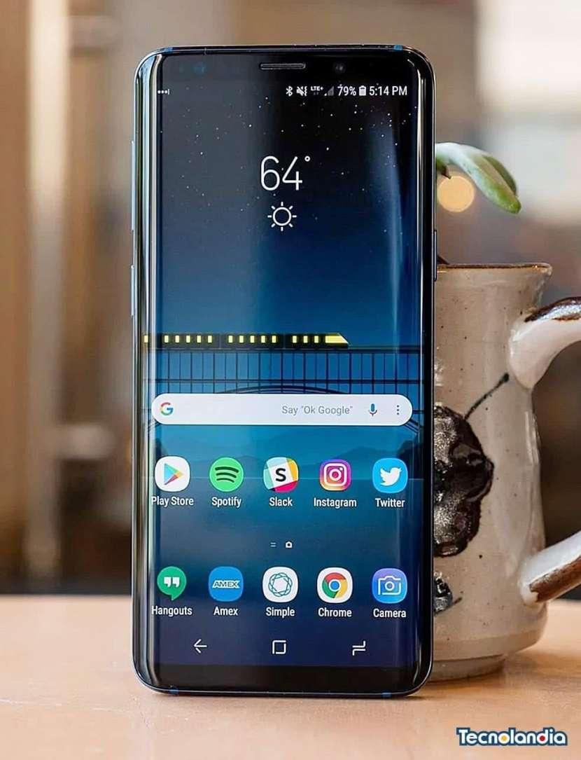 Samsung galaxy s9+ 64 gb midnight black - 0