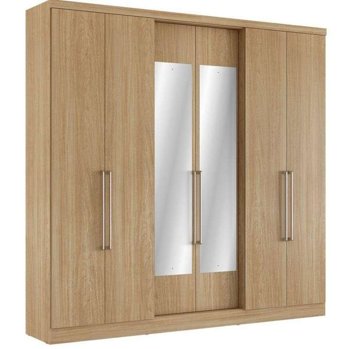 Ropero 6 puertas corrediza thb mont blac plus glas - 1