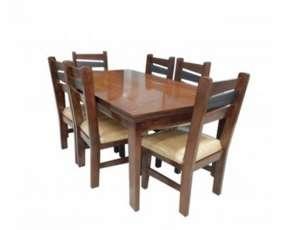 Juego comedor c/ 6 sillas carioca
