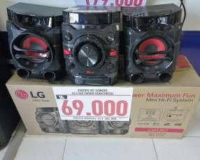 Minicomponente LG 3000 watts