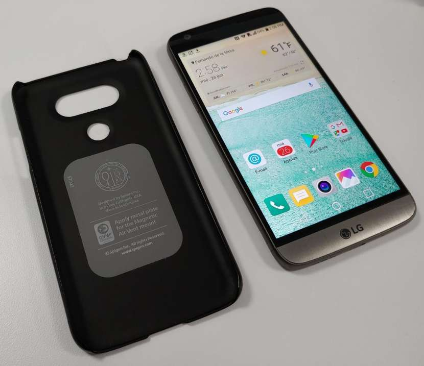 LG G5 Titan LTE 4 gb ram 32 gb - 0