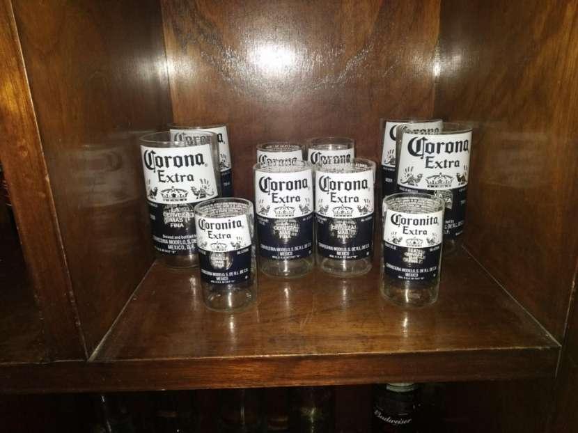 Vasos Artesanales - botellas de vidrio - 3