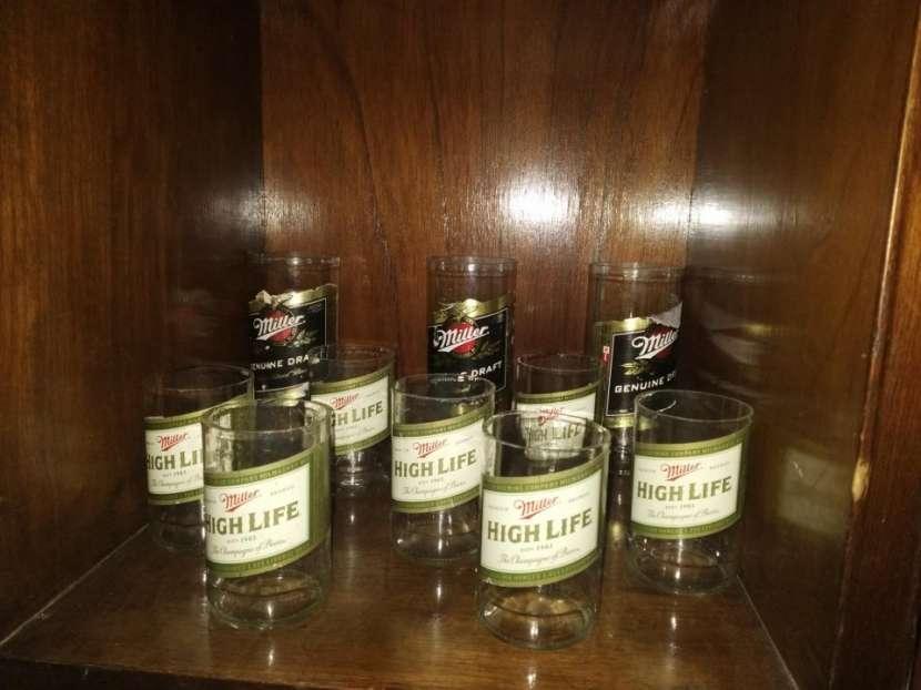 Vasos Artesanales - botellas de vidrio - 5