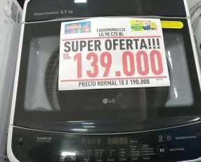 Lavarropas LG automático de 9 Kg