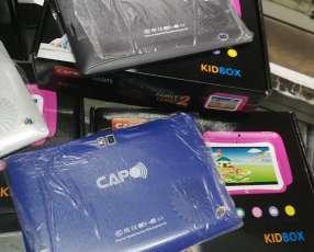 Tablet capo solo wifi + funda exclusivo para niños en luchocell2