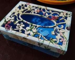 Cajita porta objetos vintage