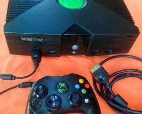 Xbox Clásica llena de juegos cargados