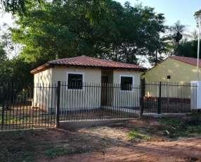 Casa a estrenar en Ñemby barrio La Lomita