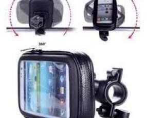 Soporte smartphone para bicicleta y motos