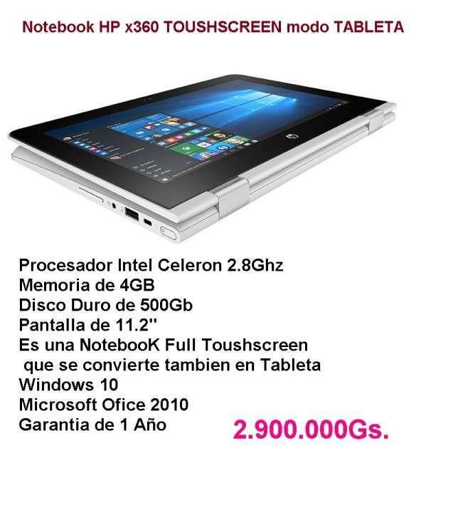 Notebook HP TOUSHSCREEN MODO TABLETA - 3