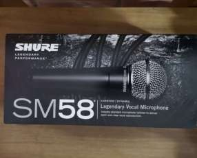 Micrófono Shure Sm 58 Nuevo