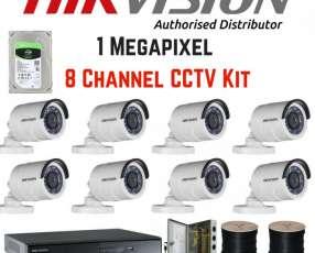 Cámaras de seguridad HD 720P y 1080P