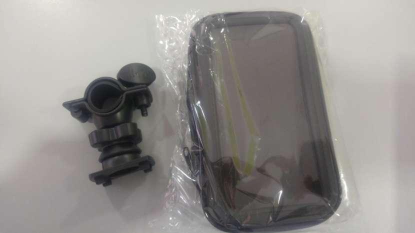 Soporte smartphone para bicicleta y motos - 1